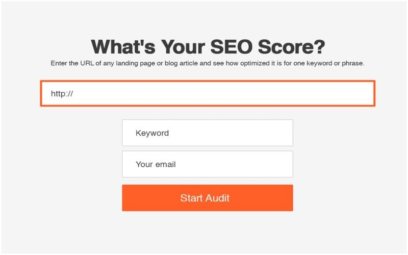 Score, audit seo technique
