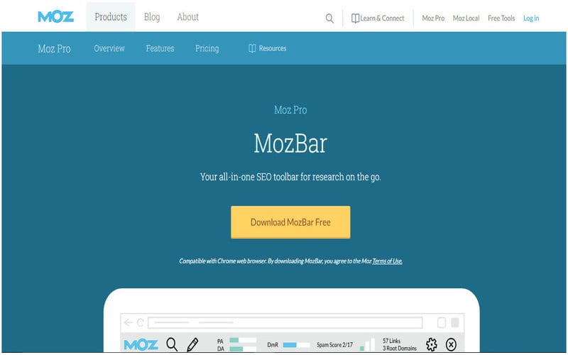 MozBar-SEO-EXT
